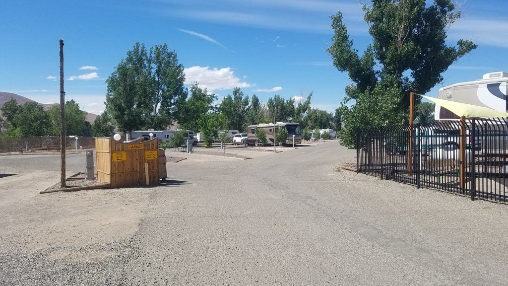 RV Location At Winnemucca KOA