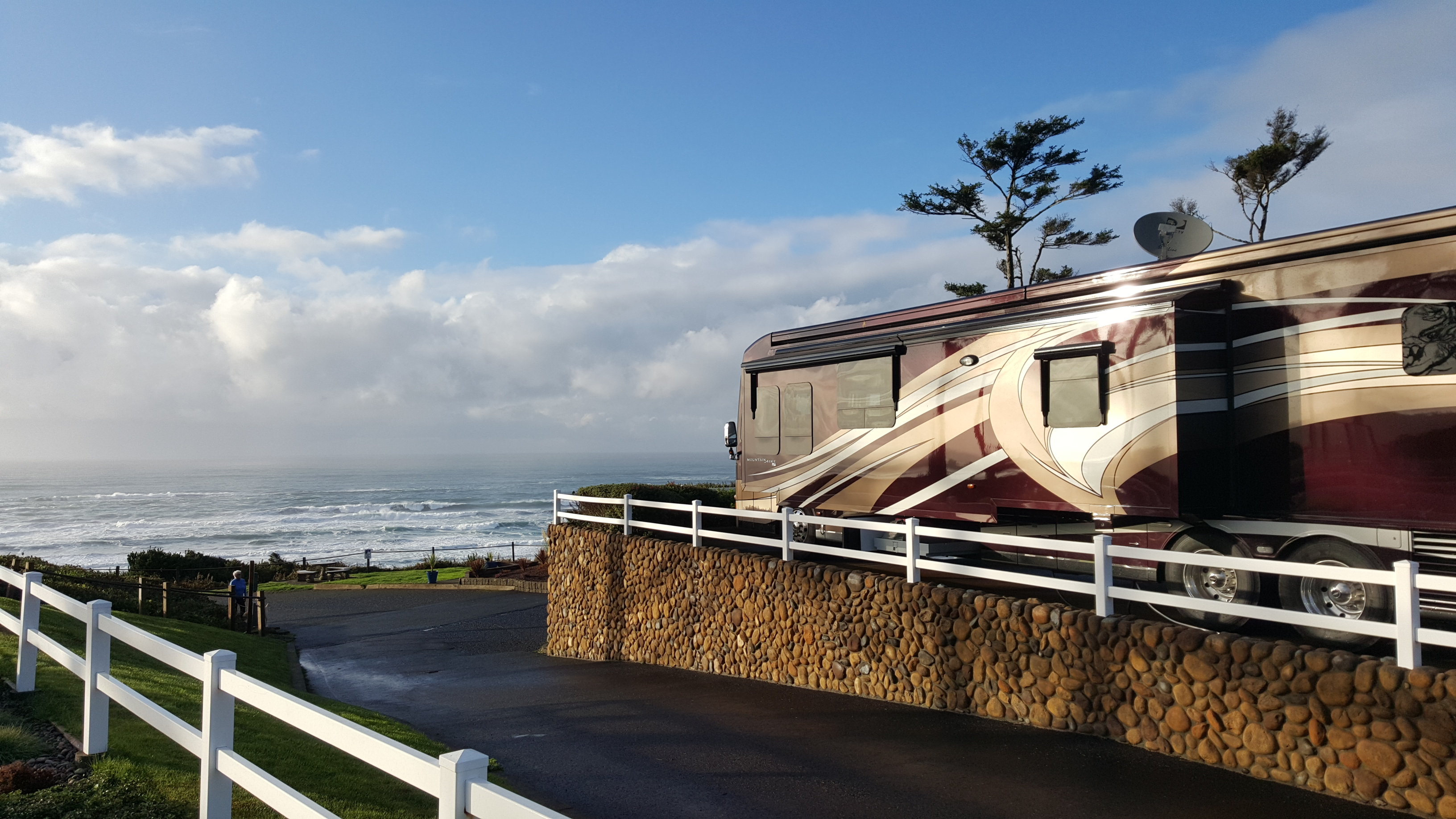 Gorgeous Campground Well Maintained And Incredible Ocean Views