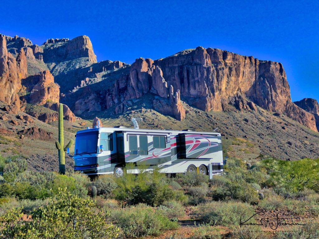 Arizona Has Many Beautiful State Parks, But Lost Dutchman Is One Of The Most Scenic.  It Is Located Just Out Side Phoenix On The Way To The Superstition Mountains.