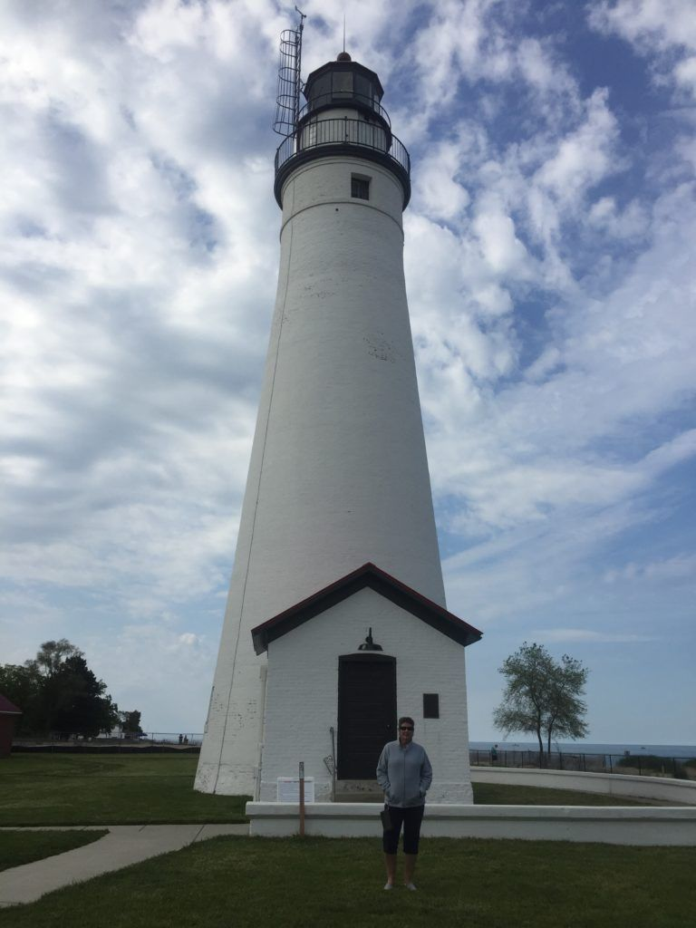 Fort Gratiot, Est In 1829, This Was The First Lighthouse In The State Of Michigan.